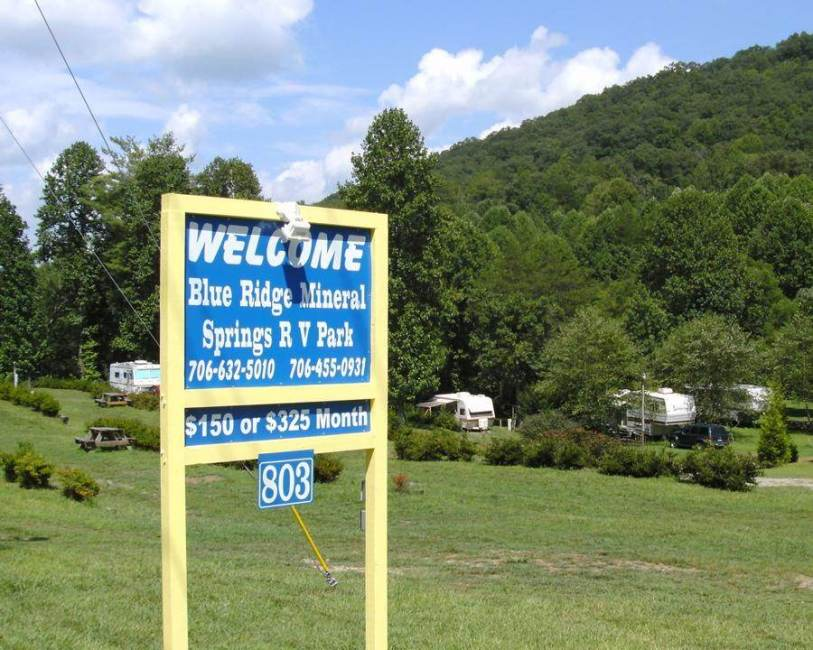 Blue Ridge Mineral Springs RV Park and Tent Camping
