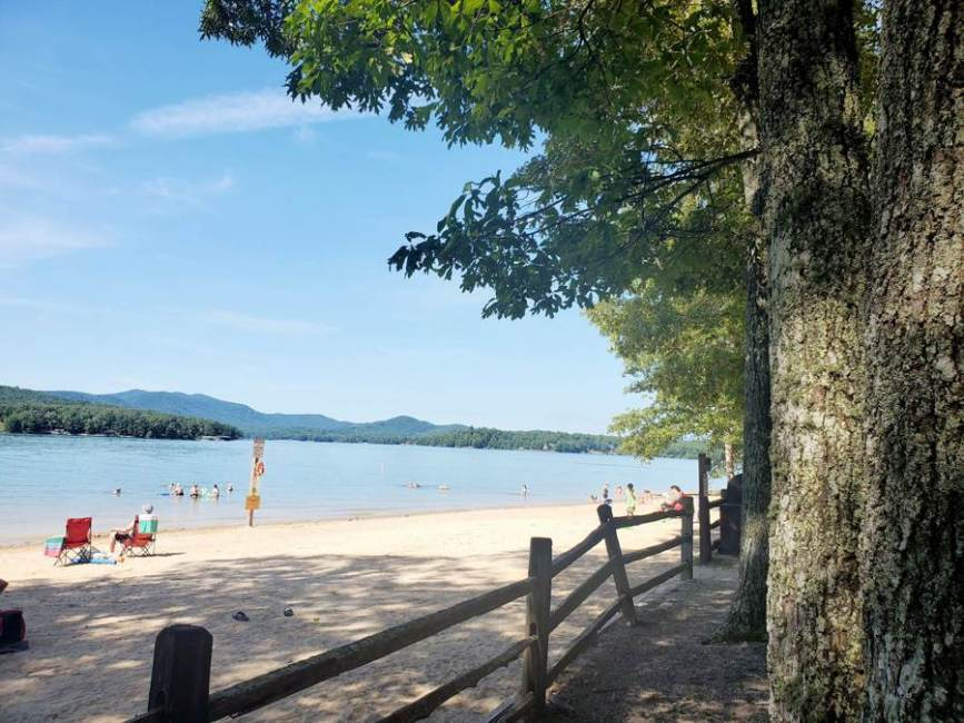 Morganton Point Campground and Recreation Area at Lake Blue Ridge